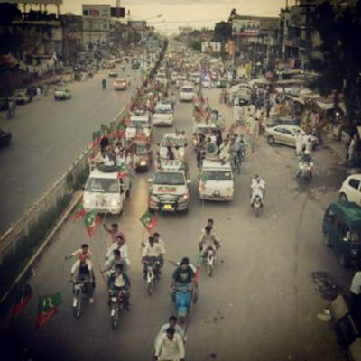 Pti Rally Rawalpindi Pakistan