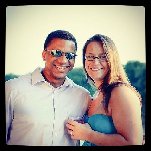 At Amberandmichael 's wedding :)