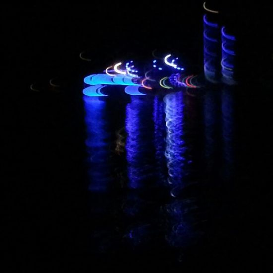City Lights Bodrum Katamaran night