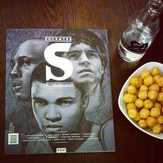 veee beklenen an :) Sócrates düşünen spor dergisi