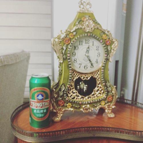 티비보다 고민고민끝에 결국 사옴 ㅋㅋ 먹고 하나더 사올지도.. 그냥 두개살껄.. 근데 4개사면 할인이던데.. 아 몰라 그냥 마실래 칭따오 맥주 술스타그램 Tsingtao Beer
