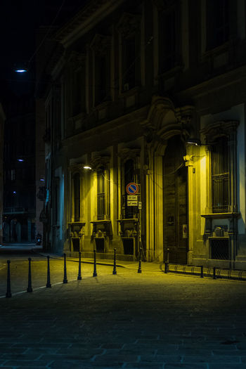 Nightscape in Milano Milan Milano Architecture Building Exterior City Illuminated Italy Night No People Outdoors