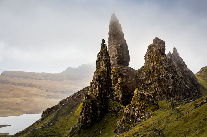 Hike the sky trail at Isle of skye. Beauty In Nature Hike Isle Of Skye Mountain Mountain Range Nature Nature Nature_collection Nature_perfection Naturephotography Naturerlebnis Naturfotografie Naturschutzgebiet Naturwunder Old Men Of Storr Outdoors Schottland Scotland Scottish Highlands Skye Trail Wanderlust Wandern Go Higher The Great Outdoors - 2018 EyeEm Awards