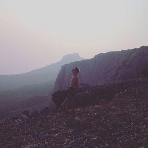 Rock climbing Mountain Ai-Petri Mountain