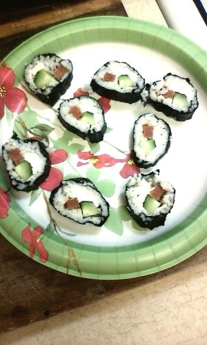 First time maken sushi