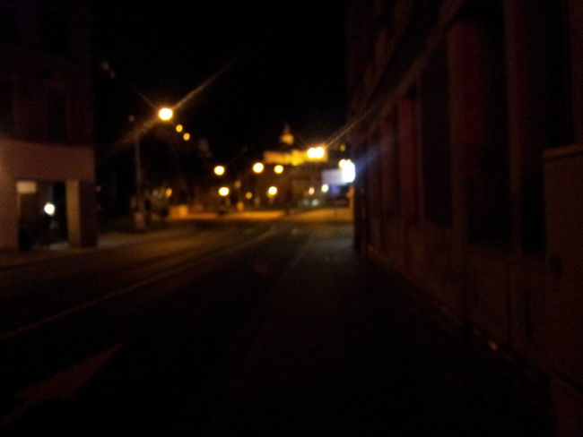Kulmbach Night Lights Streetphotography Plassenburg