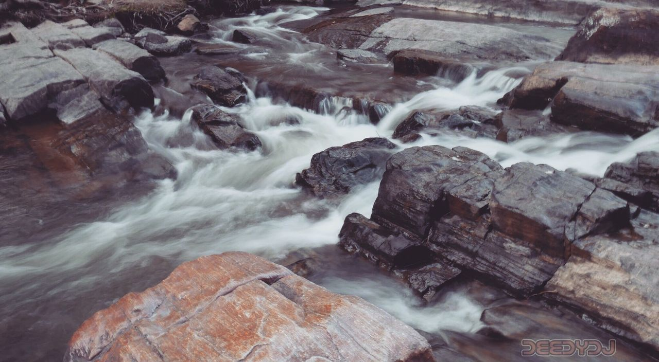 waterfall, nature, long exposure, motion, rock - object, no people, water, beauty in nature, outdoors, day