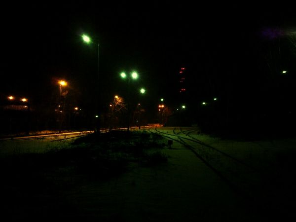 By night Factory Steelworks Industrial Job