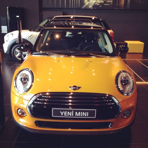 Mini Cooper yeni minim :)