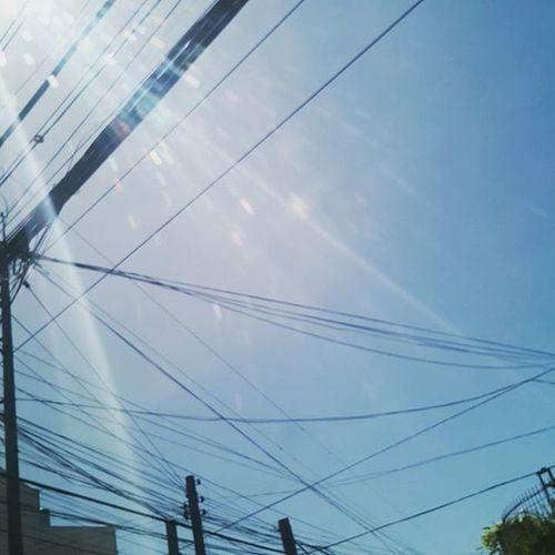 Thanks for the beautiful blue sky Lord... Sundaylar Blessedsunday Amazing Davaotrip mygirls jhaphnx13