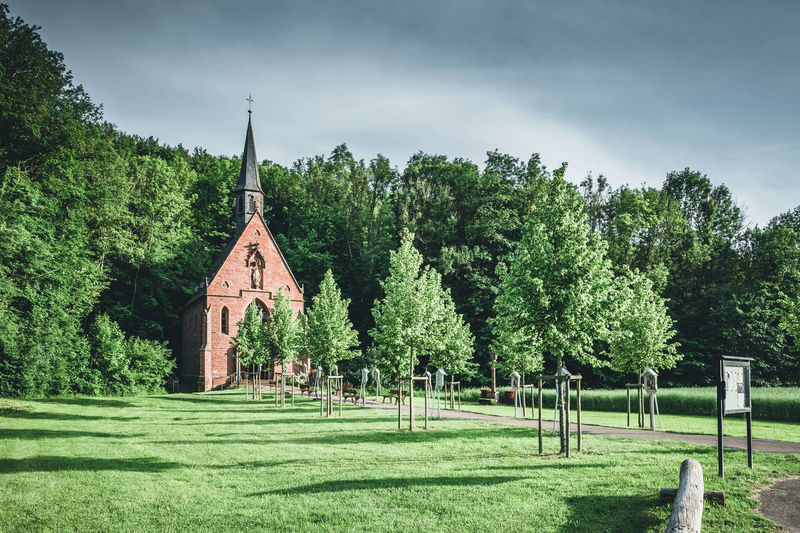 Liebfrauenbrunn Chapel Church Kapelle Kirche Tauber Valley Werbach Architecture Belief Day Nature Plant Religion Sky Spirituality Taubertal Tree