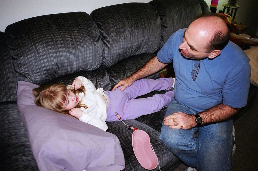 My dad sings to my little sister with Autism. Autism Awareness What I Value RIP Oliver Sacks