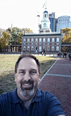 Me, in front of Independence Hall in Philadelphia! Architecture Beard Front View Independence Independence Hall Liberty Portrait Real People