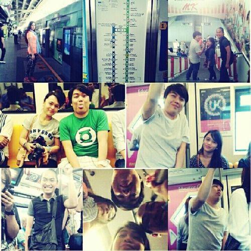 Skytrain madness!!! BTS