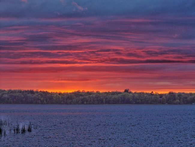 Going going gone Sunset_collection Minnesota Lovely Weather Lake View Bemidji Movil