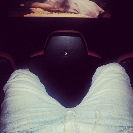 Do what I want???alone in cinema??