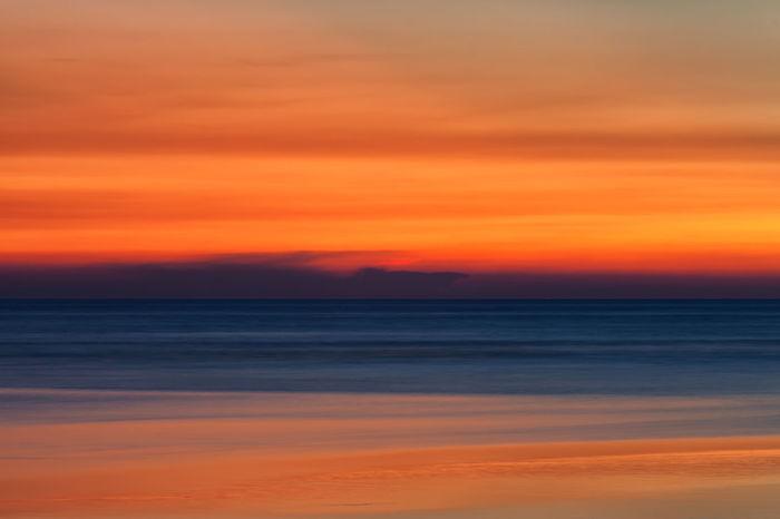 Sunset Hue Colors Nature Orange Orange Sky Textured  Tranquility Weather Beauty In Nature Color No People Orange Hue Pattern Sky Sunset Sunrise Tranquil Scene Warm