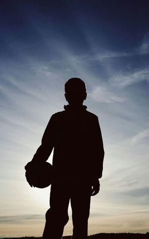 We Are Onefootball Silhouette Portrait The Illuminator - 2014 EyeEm Awards