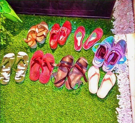 Reyes Magos en agosto ! Grass Multi Colored Green Color Day Hobbies Creativity No People Lights PlaceresDeLaVida Cenaconamici Sevillahoy The Week Of Eyeem Relaxing Colors Shoestagram Terrace Terrace Gardening