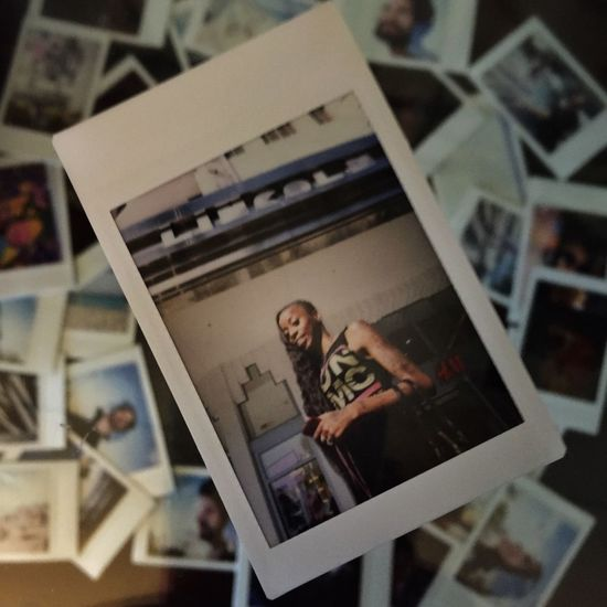 Multiple Layers Polaroid Miami Analogue Photography RunDmc Girl First Eyeem Photo