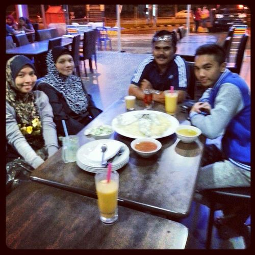 Dinner Nasi Arab with my family =)