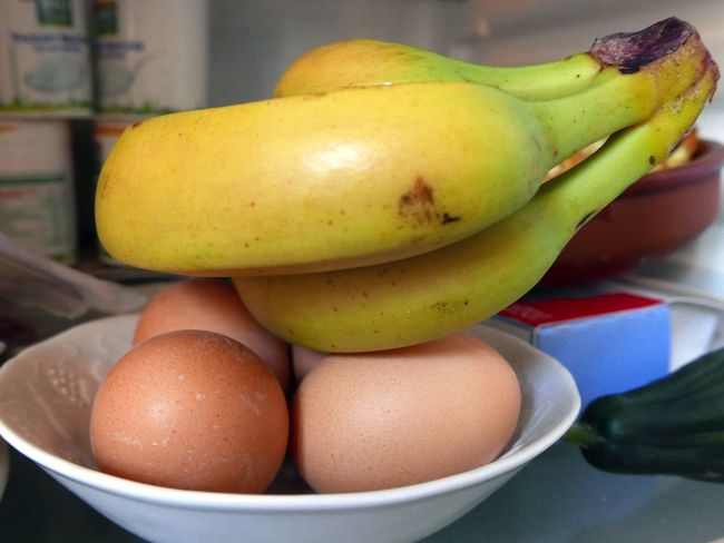 In My Fridge Bananas Eggs...