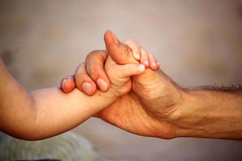 hands Father Daughter Relationship Hands People Photography Two Hands Human Hand Close-up