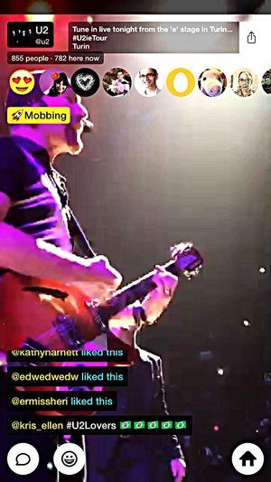 Meerkat App Live Streaming Live Stream U2 Music Concert