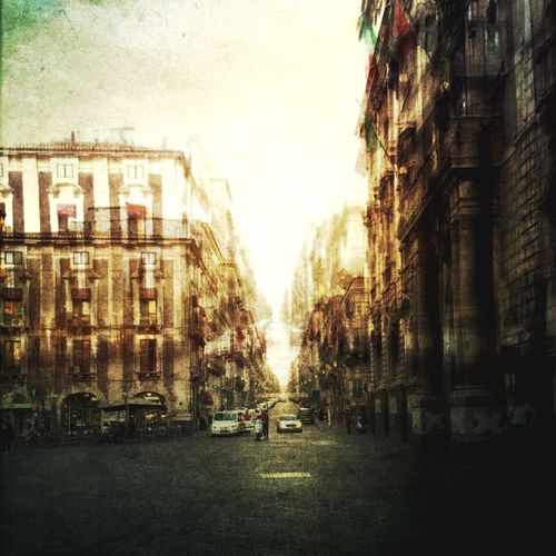 City View  Old Town Old Buildings Catania Sizilien Sizilia Street Life Streetview Street Photography Streetphotography Street NEM Painterly Painterly