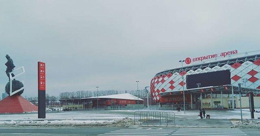 Sweet home 💕 Otkritiearena Spartak Spartakstadium Fcsm открытиеарена стадионспартак ФКСМ Спартак