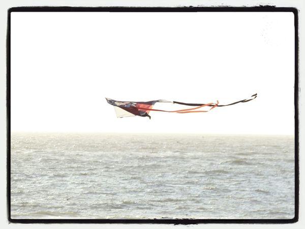 Flying A Kite Taking Photos
