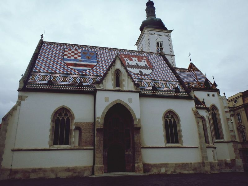 Discover Your City Zagreb Architecture Pattern Horizon My Country In A Photo Traditional Architecture Architecture_collection Architectural Detail