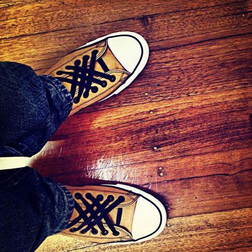 Fresh chucks. Fresh laces. Happy days. Shoes Floortraits Melbourne Footscray