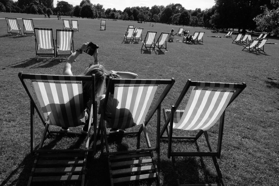 Hyde Park Family Real People Chair Outdoors Lifestyles London City