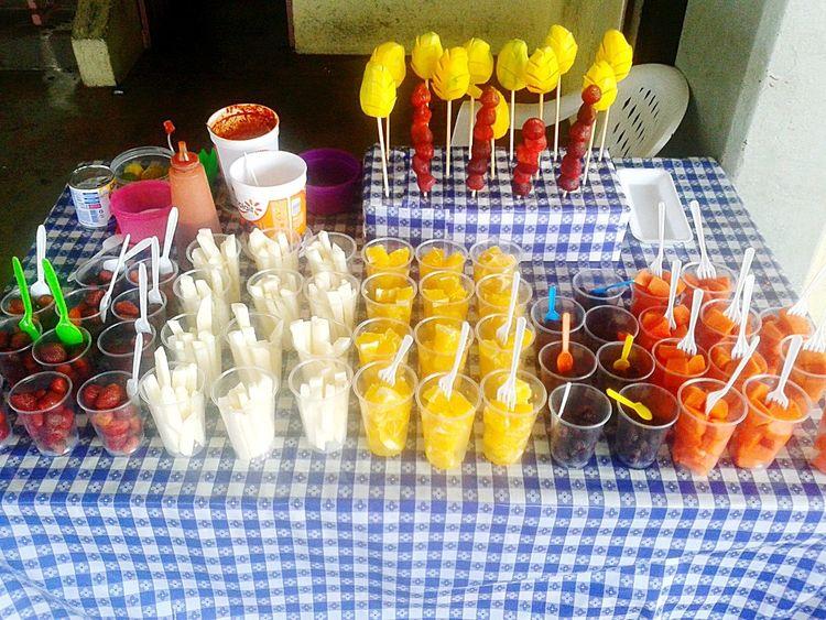 Empleo de verano.Folklore Mexicano Verano !  Food Fruta♥ Acapulco