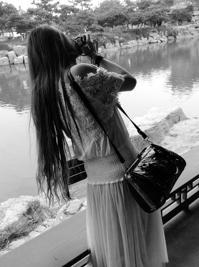 The Traveler - 2015 EyeEm Awards Asian Culture RobertEkbergTallberg Landscape Blackandwhite