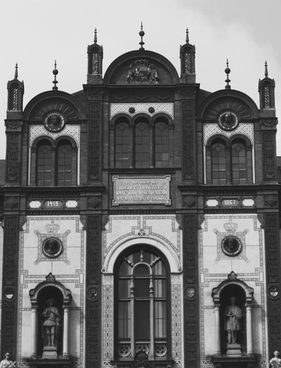 Rostock University Blackandwhite Photography Bnw Fine Art Photography Germany Politics And Government City Arch Place Of Worship Religion Façade Dome History Sky Architecture