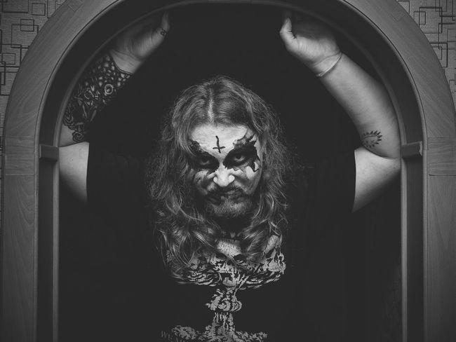 corpse paint Black & White Helloween