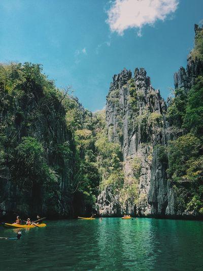 El Nido El Nido, Palawan Water Tree Sky Waterfront Day Nature An Eye For Travel