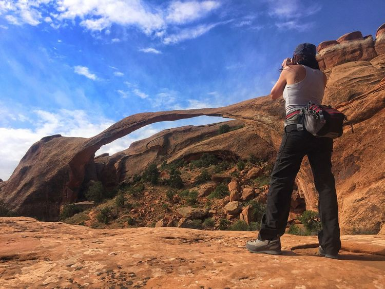 My Year My View Arches National Park, Utah Outdoors Rock - Object Nature Park Hiking Trekking Finding New Frontiers Finding New Frontiers The Secret Spaces EyeEmNewHere
