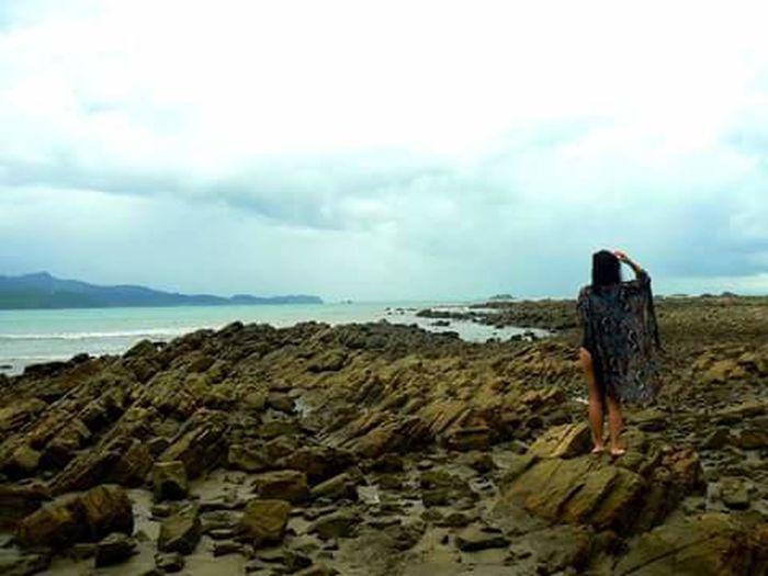 Bahia ballena Water Tranquility Sky Sea Vacations Costa Rica Uvita De Osa Tropical Paradise