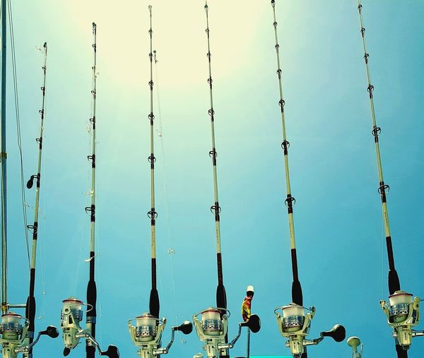 fishing rods at