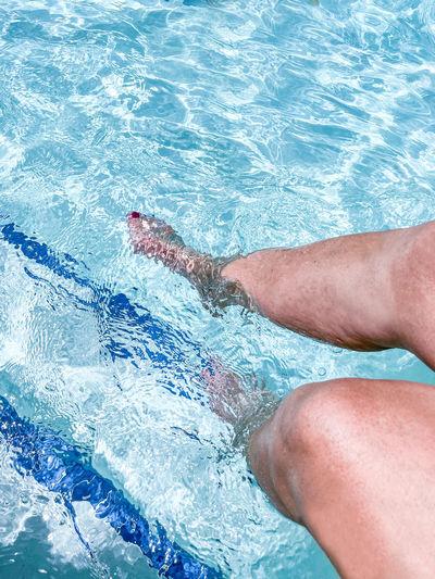 Feet cooling