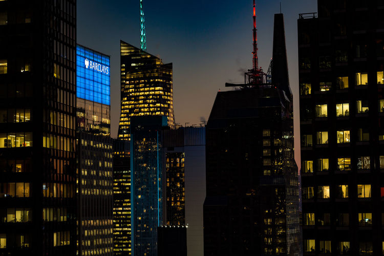 Architecture Built Structure Building Exterior Building City Office Building Exterior Night Tall - High Tower Illuminated Skyscraper Office Modern No People Sky Financial District  Landscape Cityscape City Life Outdoors Spire