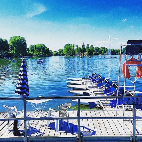 Lac Enghein IleDeFrance 🌸🐟🚣