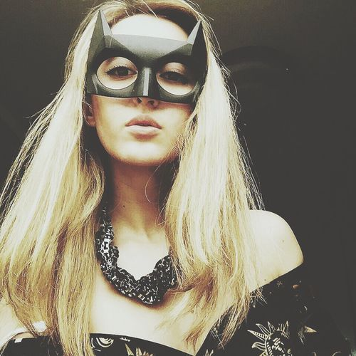 Self Portrait Batgirl That's Me Check This Out