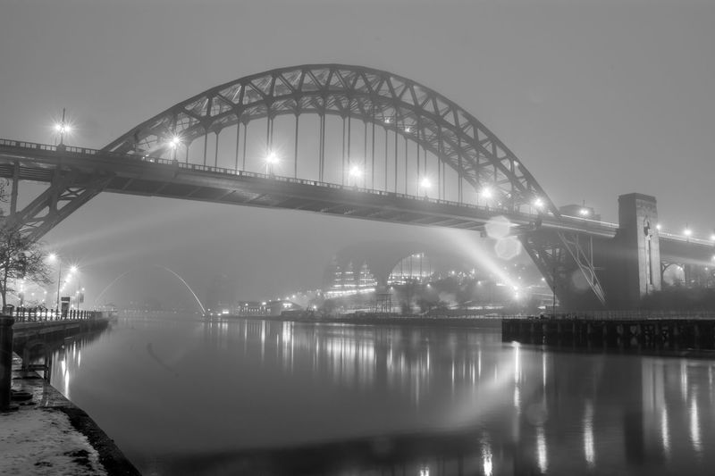 Fog on the tyne Newcastlequayside Newcastle Newcastleupontyne Tynebridge  NORTHEASTENGLAND Rivertyne Gateshead Northeast Bridges Bridge River Toon Blackandwhite Blackandwhite Photography Black & White Black And White City Water Cityscape Illuminated Modern Harbor Business Finance And Industry Reflection Fog Sky Urban Skyline Bridge - Man Made Structure Arch Bridge Tall - High