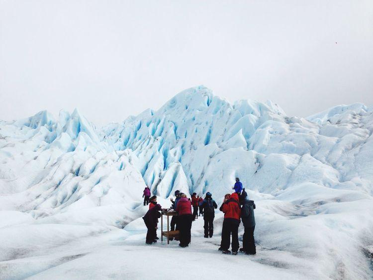 Snow Nature Frozen Mountain White Color glaciar