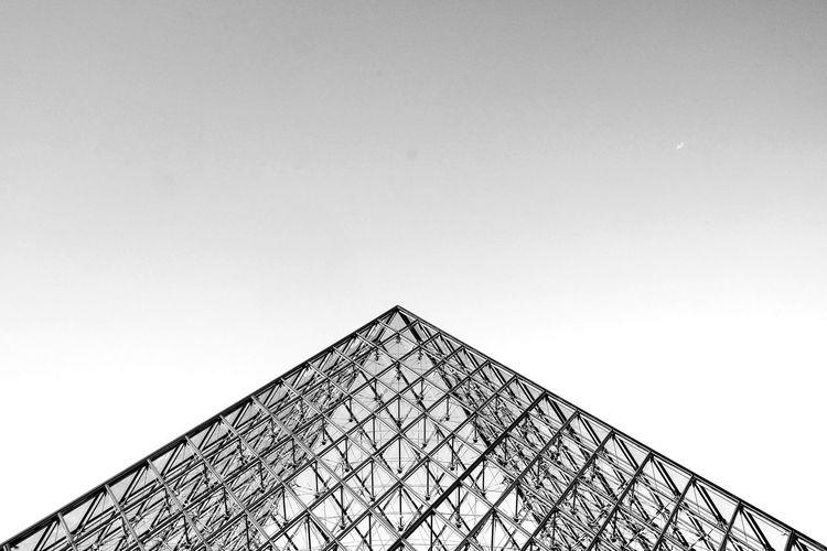 City Pyramid Triangle Shape Sky Architecture Built Structure Building Exterior Geometric Shape Pyramid Shape Architectural Feature Triangle