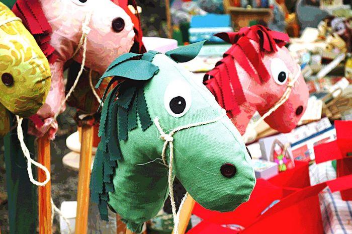 Festival Del Gatto Grazzano Visconti Multi Colored Toy Animal Animal Representation No People Variation Day Horse Toy Mercatino Di Natale 2015